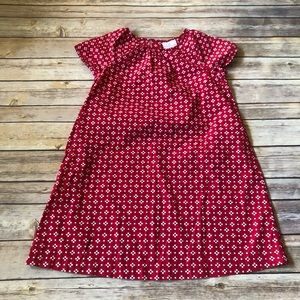 Red and white Hanna Andersson dress